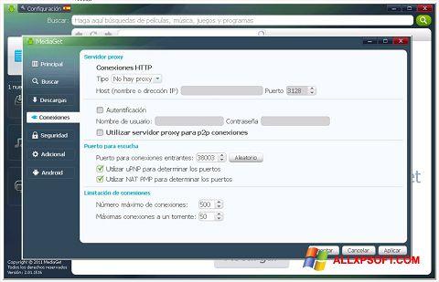Zrzut ekranu MediaGet na Windows XP