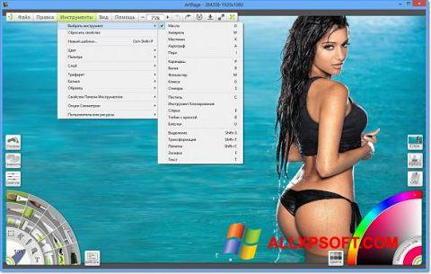 Zrzut ekranu ArtRage na Windows XP
