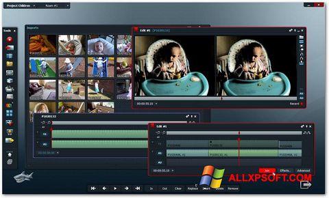 Zrzut ekranu Lightworks na Windows XP
