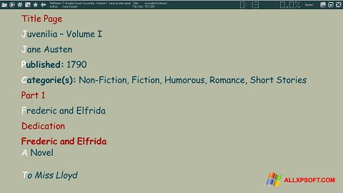 Zrzut ekranu ICE Book Reader na Windows XP
