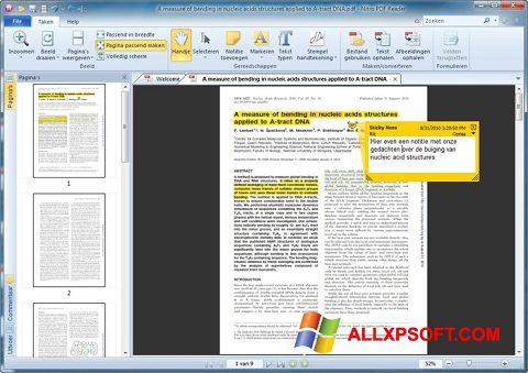 Zrzut ekranu Nitro PDF Reader na Windows XP