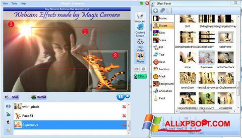 Zrzut ekranu Magic Camera na Windows XP