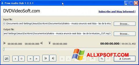 Zrzut ekranu Free Audio Dub na Windows XP