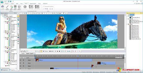 Zrzut ekranu Free Video Editor na Windows XP