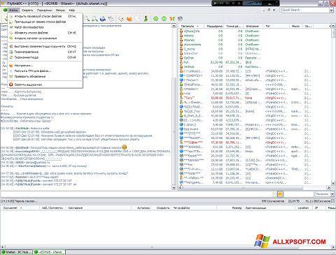 Zrzut ekranu FlylinkDC++ na Windows XP