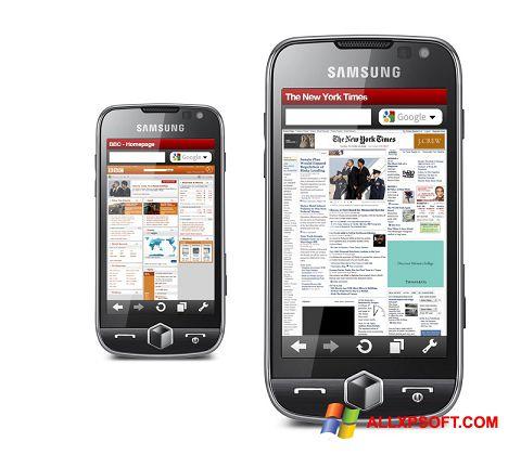 Zrzut ekranu Opera Mobile na Windows XP