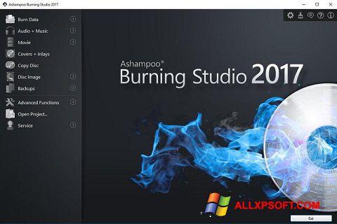 Zrzut ekranu Ashampoo Burning Studio na Windows XP